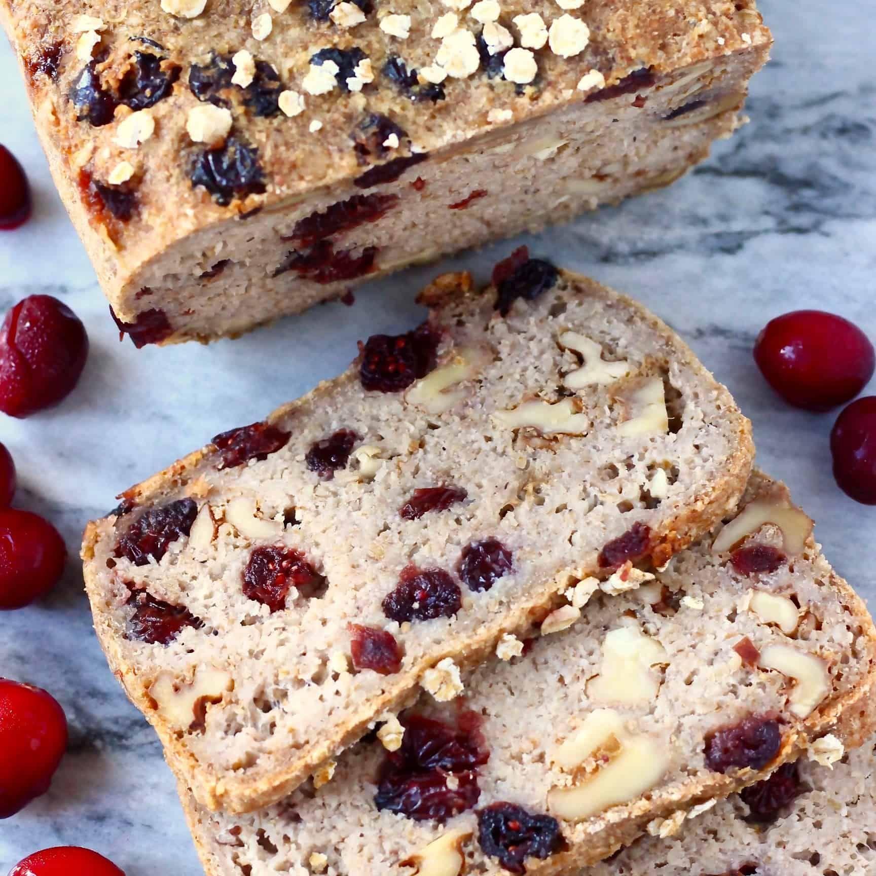 Gluten-Free Vegan Oatmeal Bread