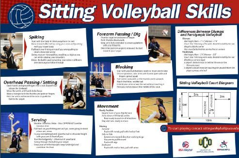 sitting volleyball rules - Google Search | Sport activities for ...