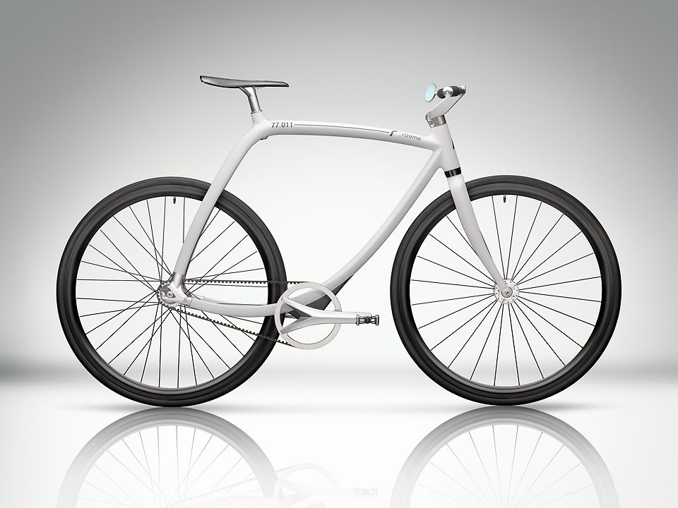 1 | This Novel, Handmade Bike Is 17 Pounds Of Sexy | Co.Design | business + design