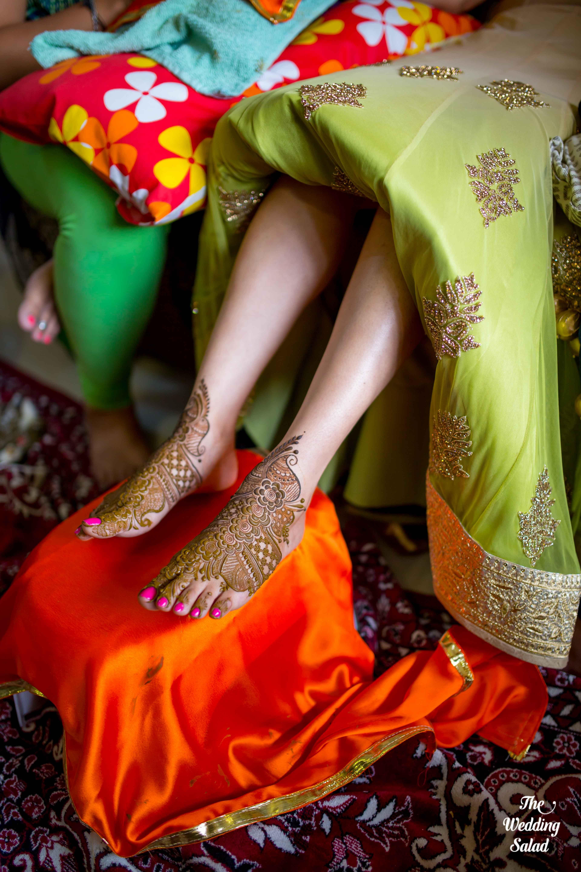 Bridal Mehendi | Photo by The Wedding Salad | mehendi laga ke rakhna ...