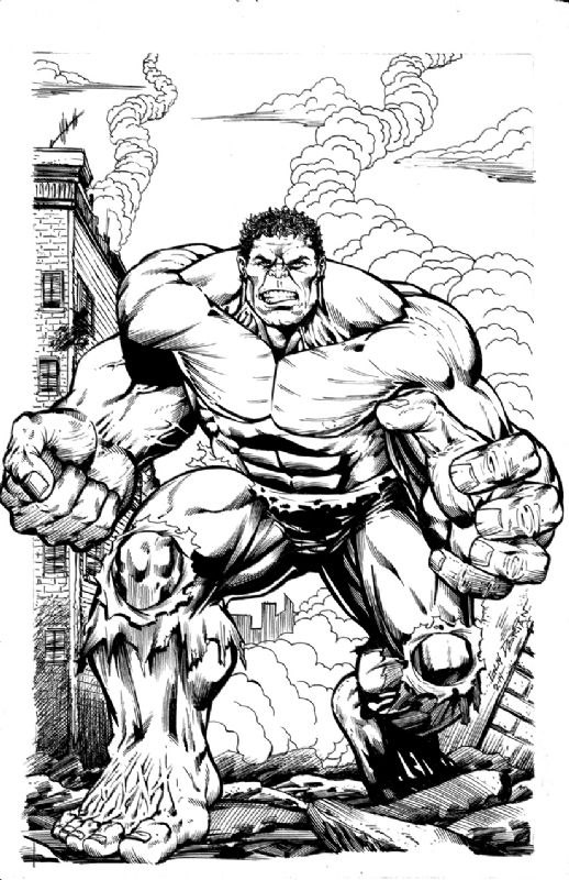 The Hulk By Guy Dorian Fun Comics Comic Art Comic Book Heroes
