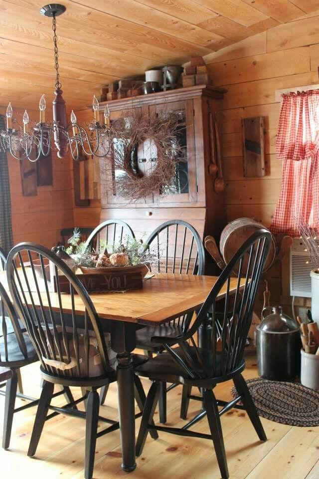 Rustikale Esszimmer, Schlichte Küchen, Rustikaler Stil, Bauernhausstil,  Landleben, Ideen Für Die Küche, Primitive