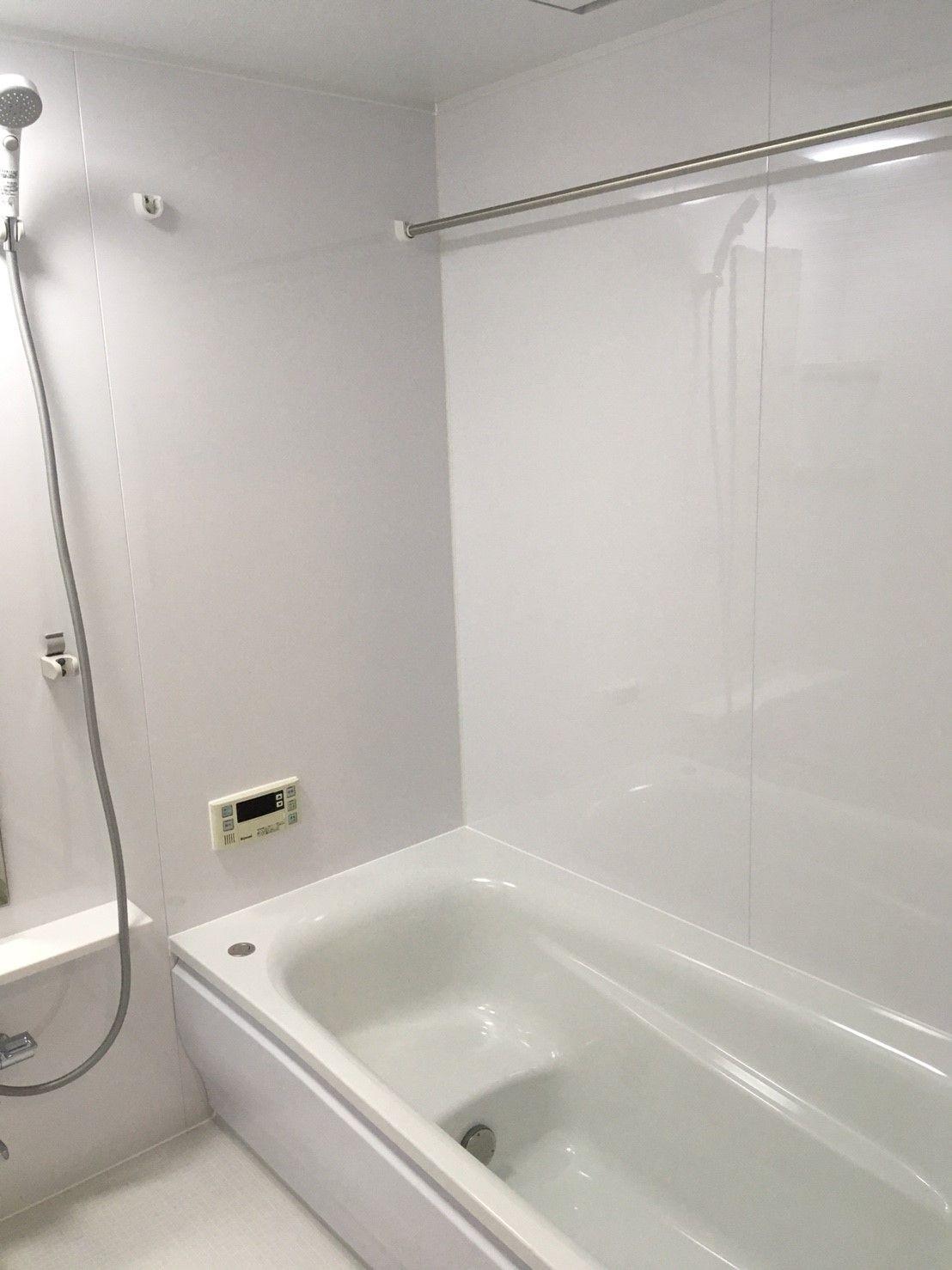 真っ白の ーその ー お風呂 リフォーム リフォーム 住宅リフォーム