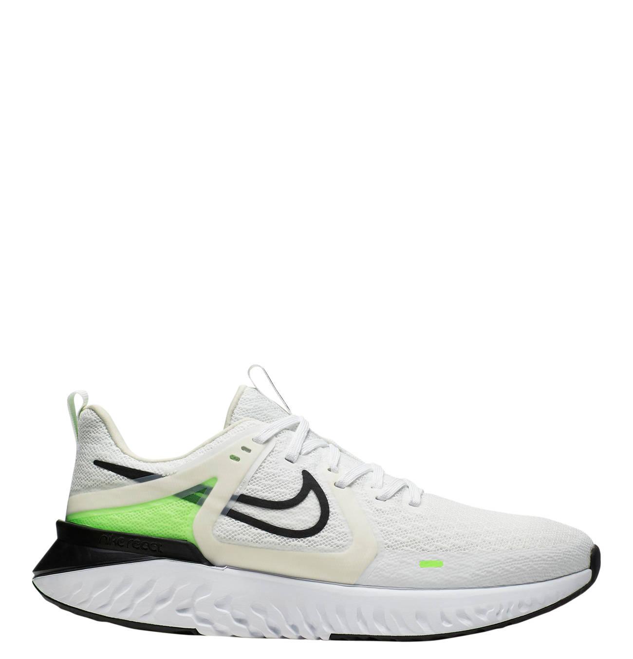 Nike Herren Laufschuhe Freizeitschuhe NIKE Nike Legend React 2 schwarz weiß grau