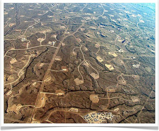 Fracking In Wyoming Map.Fracking In Wyoming Four Fracking Pads For Every Square Kilometer