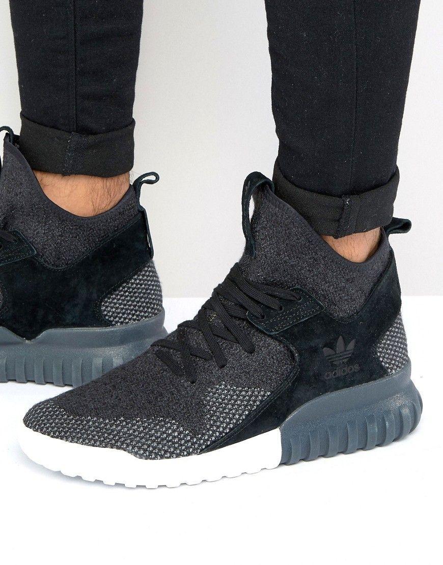 uk availability 226e6 df0b7 adidas Originals Tubular X PK Sneakers In Black BB2379 ...