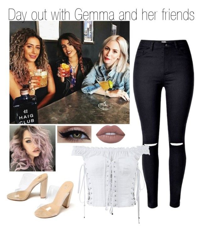 """Day out with Gemma and her friends"" by littleharmonythedirection ❤ liked on Polyvore featuring Dolce&Gabbana and Lime Crime"