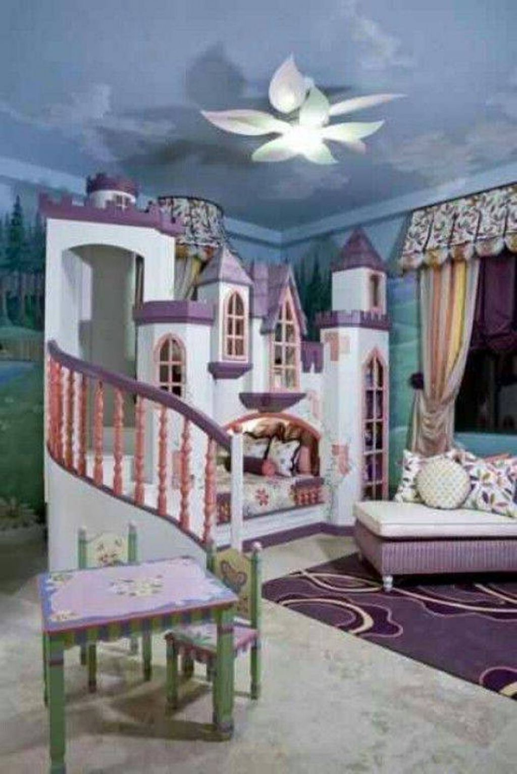 Beautiful Castle Bed For Your Kids Bedroom Toddler