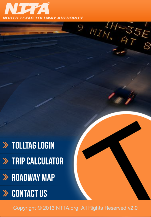 The NTTA's free mobile app Tollmate now features a map with real