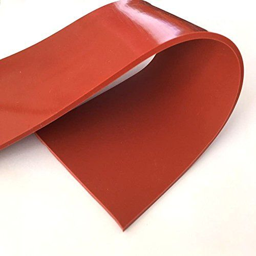 Only 16 99 Lms High Temperature No Backing Red Silicone Rubber Sheet Https Www Amazon Com Dp B01n4kvhyd R Silicone Rubber Heat Resistant Silicone Rubber