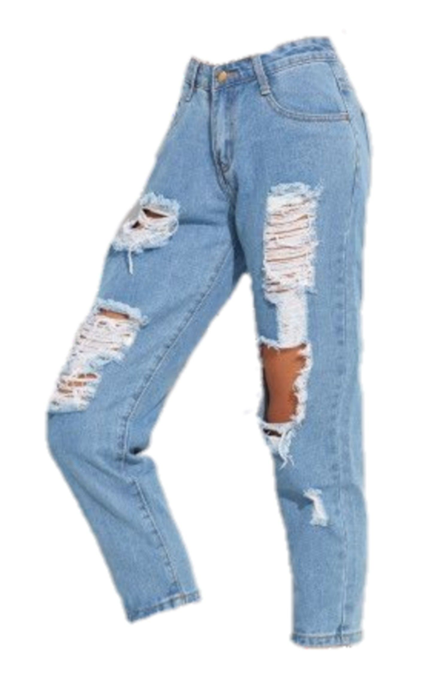 Ripped Jeans Polyvore Png Made By Artoftheweirdoboy Ripped Jeans Clothes Outfits