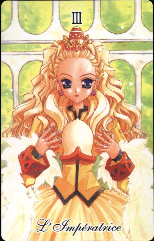Nanami in the Utena tarot