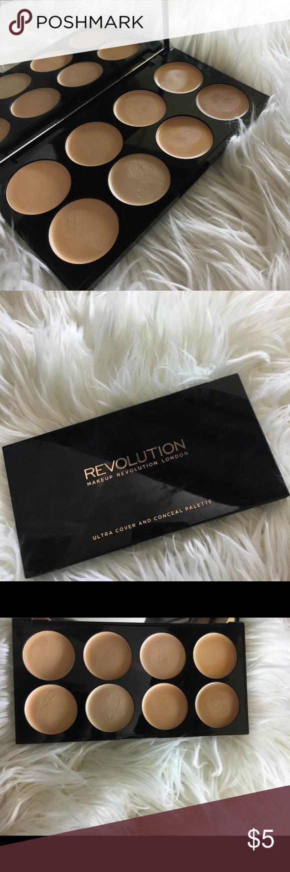 Makeup Revolution Concealer Palette Makeup revolution