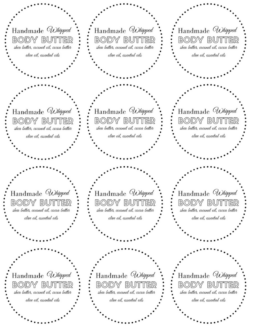 Diy Whipped Body Butter Recipe All Natural In 2020 Whipped Body Butter Diy Body Butter Body Butter Labels