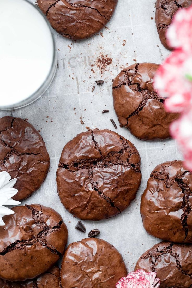 Flourless gluten free chocolate cookies in 2020 gluten