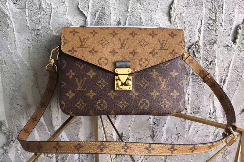 Louis Vuitton Pochette Metis Monogram Reverse Canvas M41465 ... 4ce3722e823a6