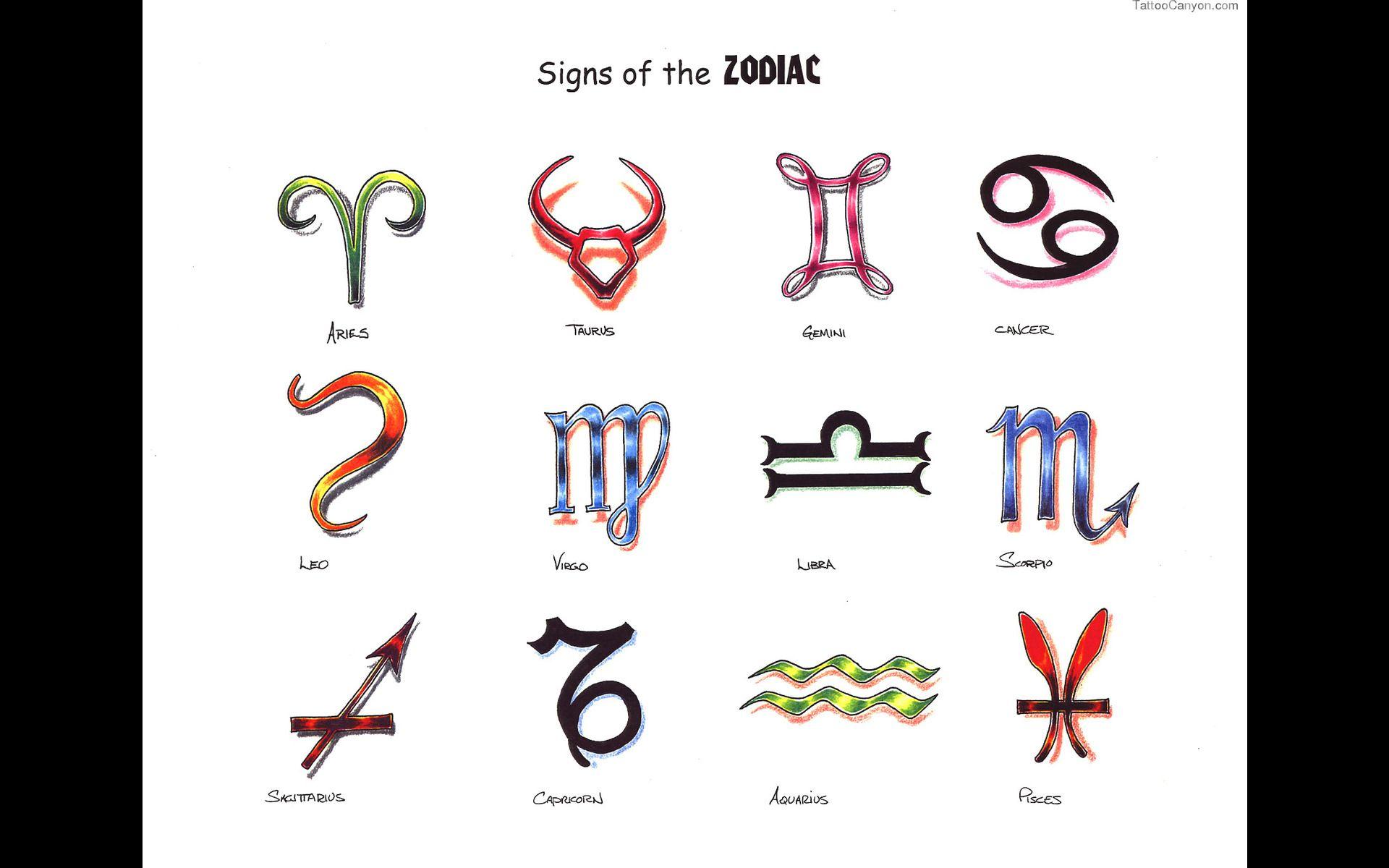 1918 Libra Zodiac Symbol Tattoos Tattoo Design 1920x1200g