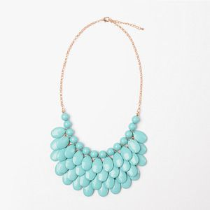 Image of Turquoise Waterfall Necklace