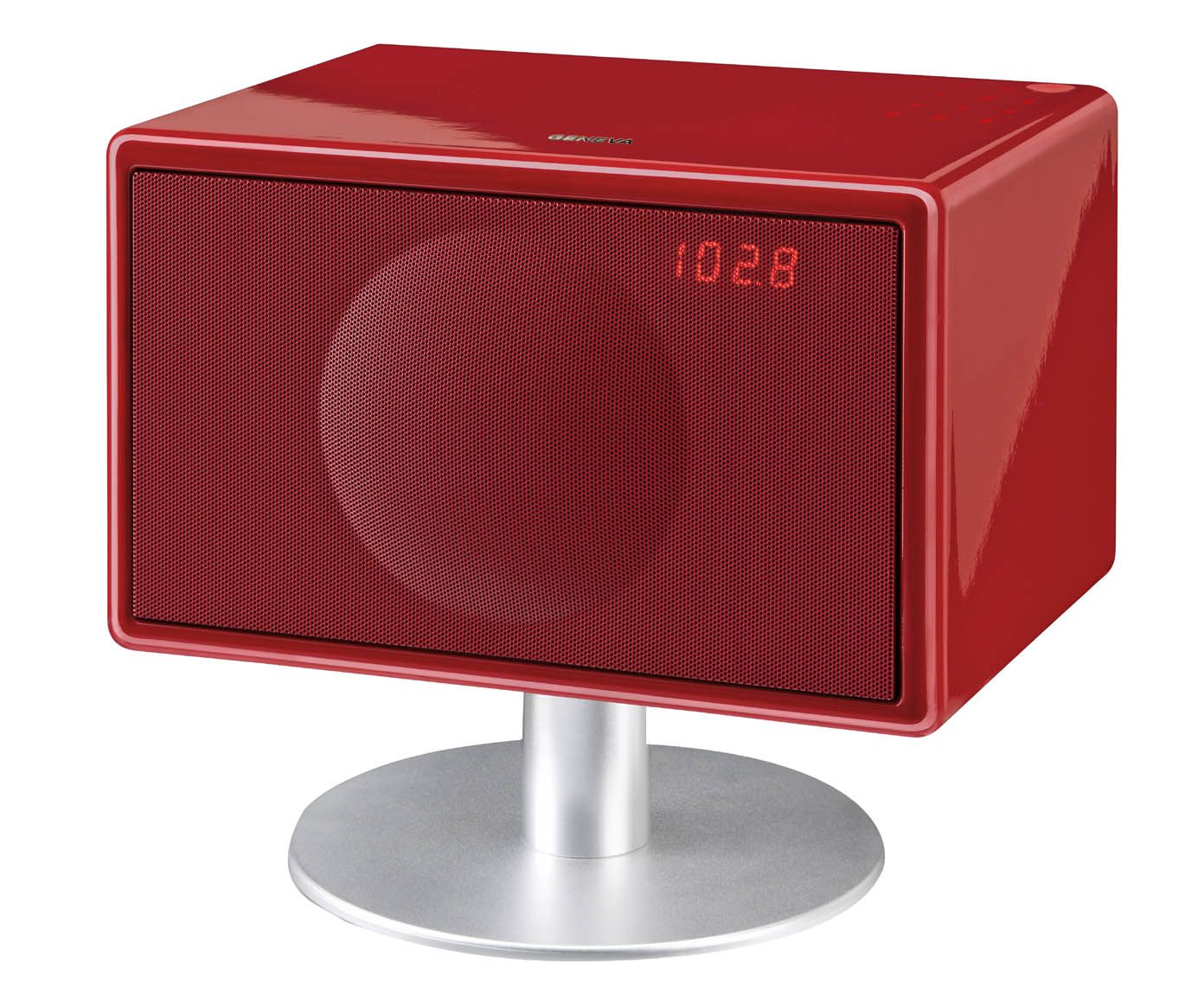 Sistema audio geneva model s wireless rosso high fidelity