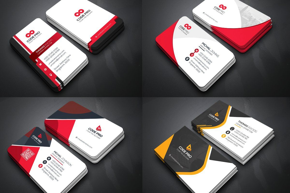 50 Business Cards Bundle Business Cards Creative Templates Business Cards Creative Business Cards