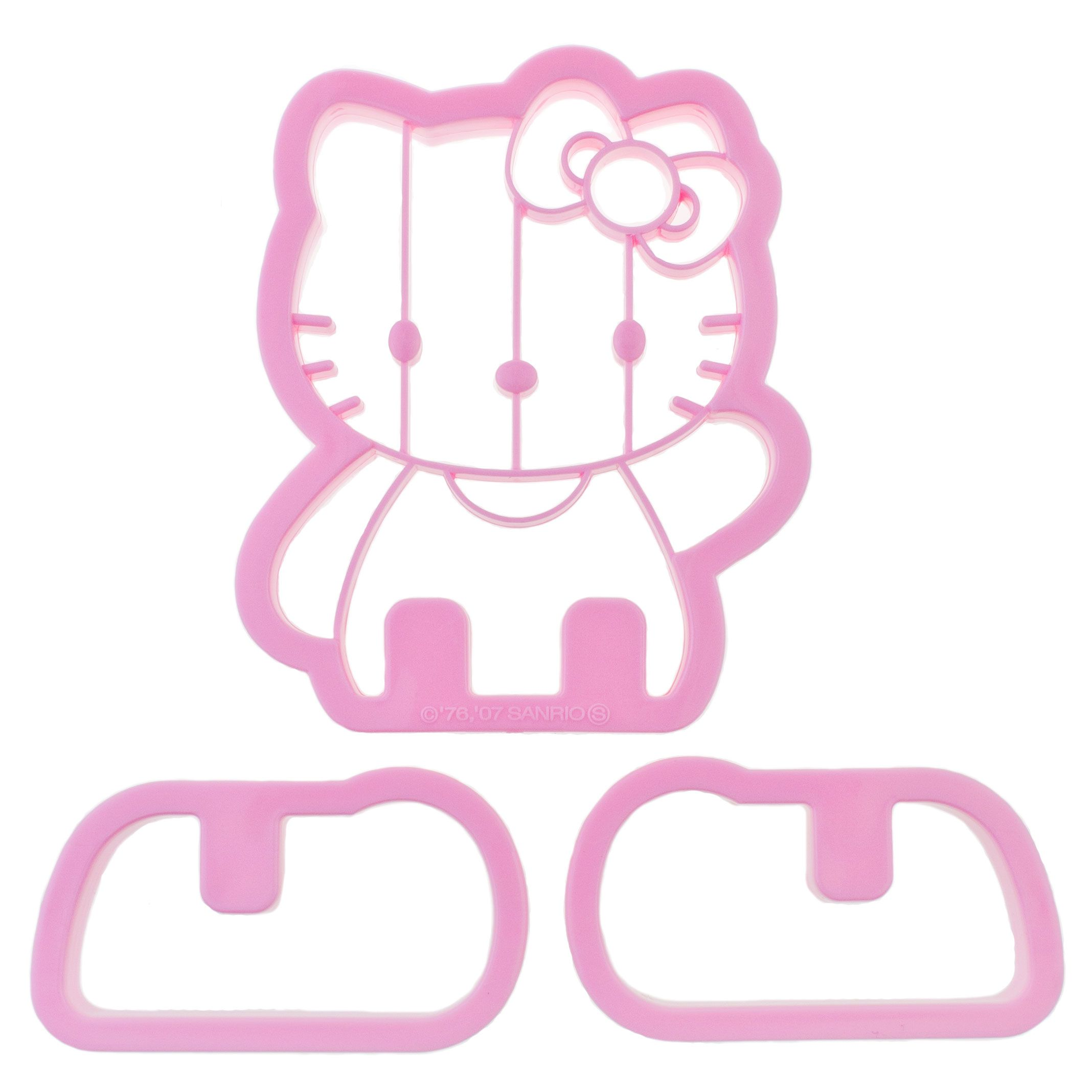 Hello kitty 3d cookie cutter hellokittyuk kawaii