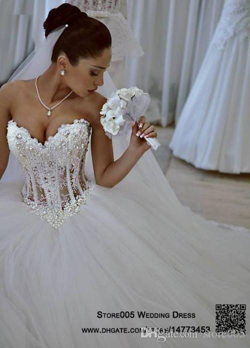 Robe de mariee bustier corset