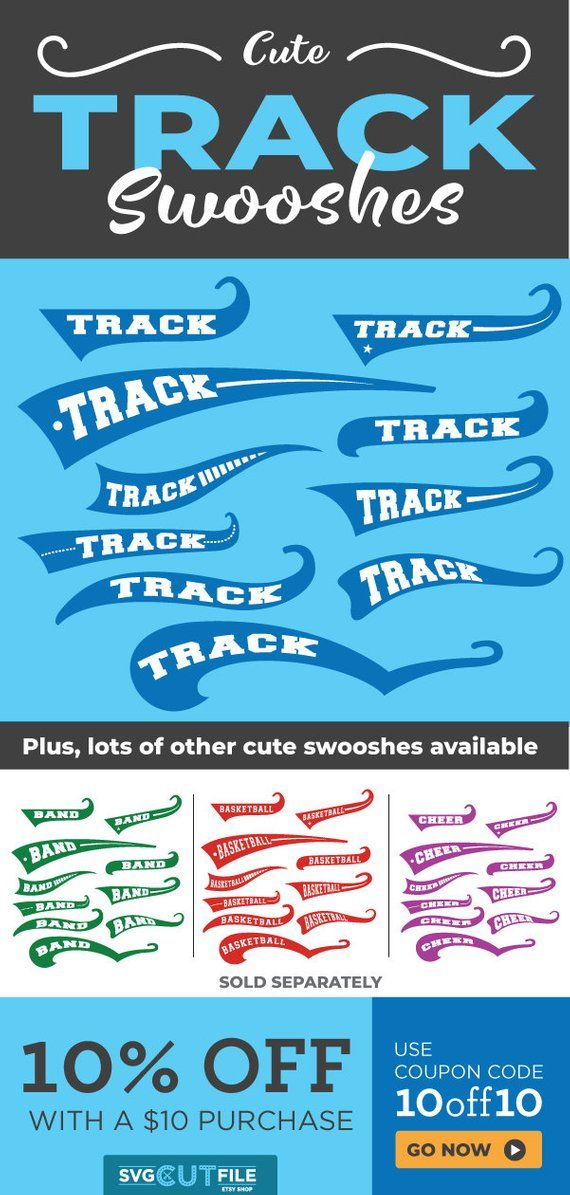 Track svg track and field swoosh svg text tail svg eps