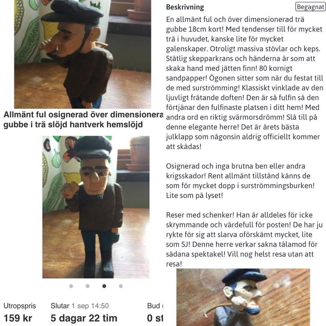 Swedish Ebay Tradera Deliver Svensk Humor Ojojoj Ojoj Fyy Faaan Fyfan Fyfaan Fyfaaan Tradera Ebay Humor Slojd Resim