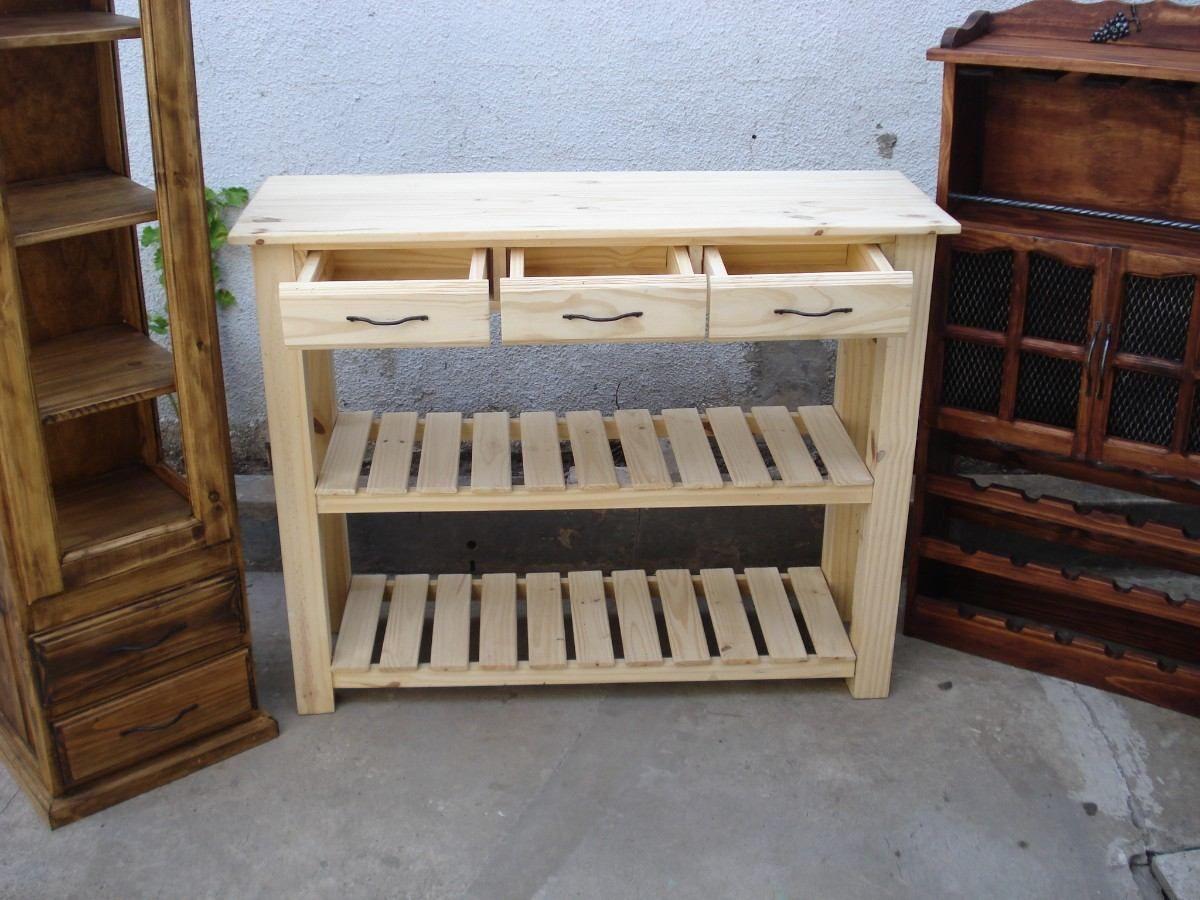 Mesa de quesos quesera arrime desayunador campo pino - Mesa de pino ...