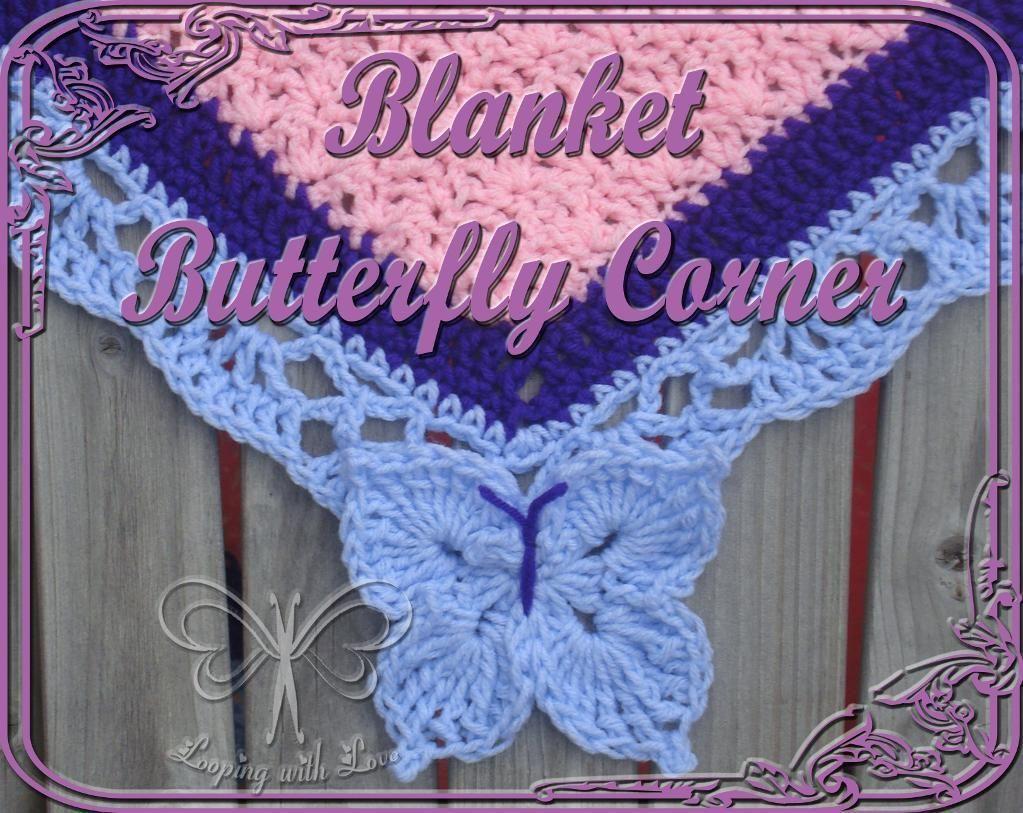 Butterfly Corner For A Blanket Border