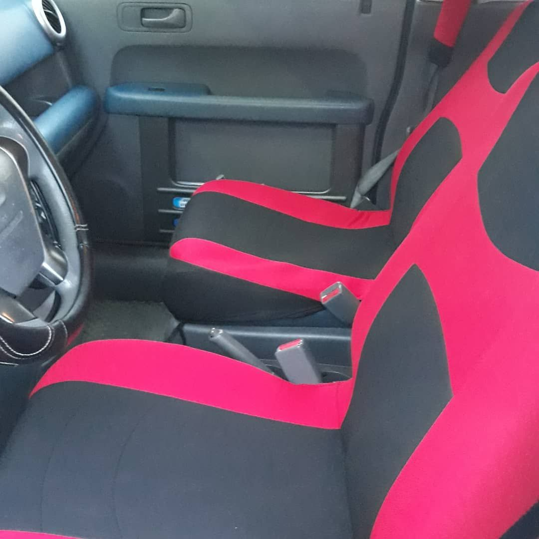Honda Element Crew On Instagram The Element Got Some New Seat Covers For Christmas How Do They Look Honda Element Honda Seat Covers