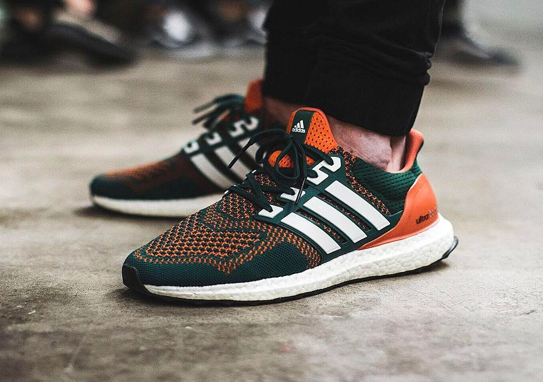 f29a1f7e84e96 Adidas Ultra Boost Miami Hurricanes - 2016 (by jpndr)