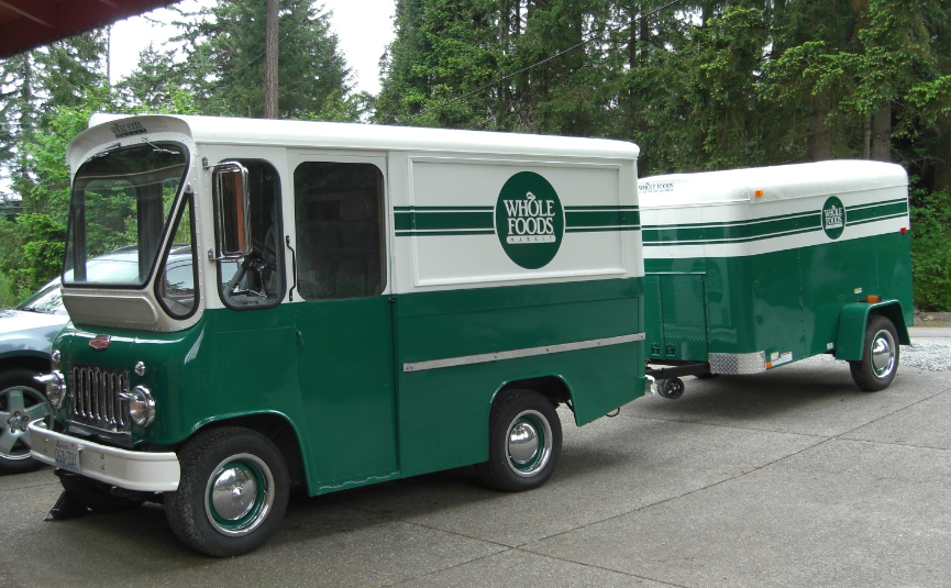 91aac8f10a7 Willy's Jeep Fleetvan FJ-3A [Whole Foods]   Other Willys   Jeep ...