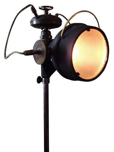Steampunk adjustable floor lamp - $2245.#vandm #designcamp
