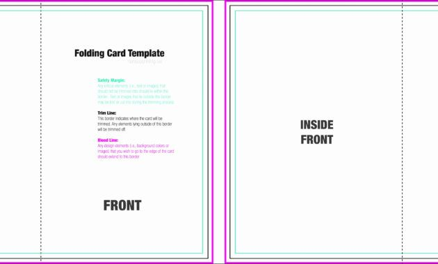 The Fascinating Foldable Card Template Word Cumed In Foldable Card Template Word Images Below Is Foldable Card Template Baseball Card Template Folded Cards