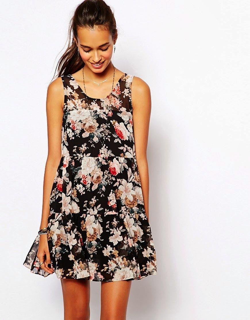 1479d7549 Bonitos vestidos casuales estampados