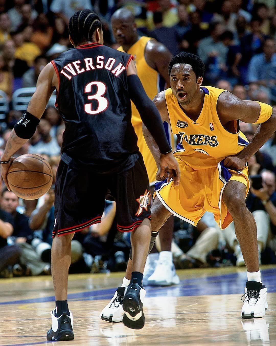 We All Should Be Fortunate That Allen Iverson Wasnt 65 Kobe Bryant Hardwoodheroes Allen Iverson Kobe Bryant Pictures Basketball Star