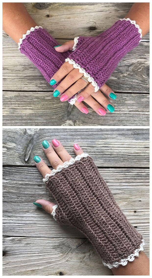 Wrist Warmers Free Crochet Pattern - Knitting Projects in ...