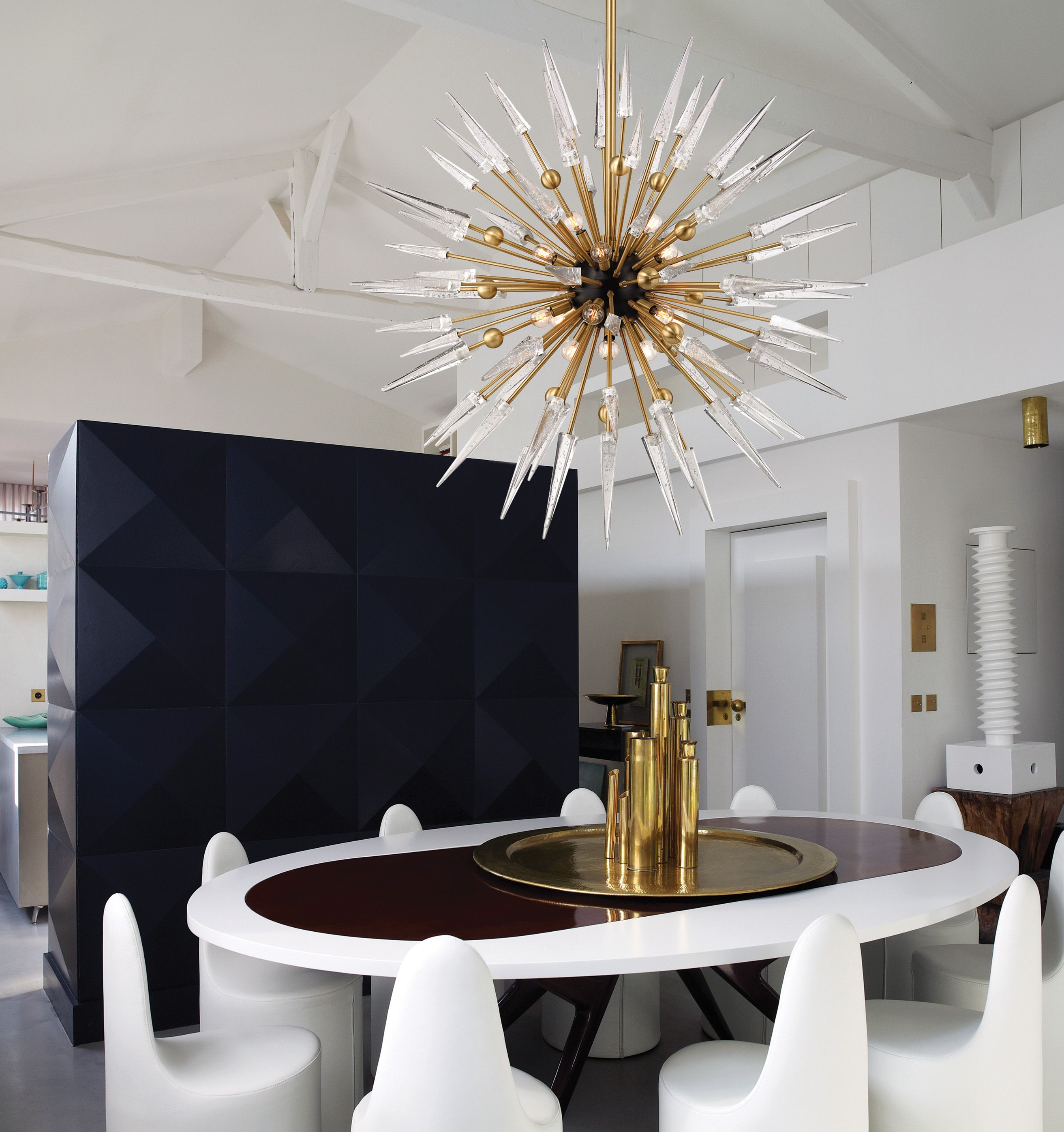 Sparta Chandelier From Hudson Valley Lighting A Fresh Take On Sputnik Fixture That Is