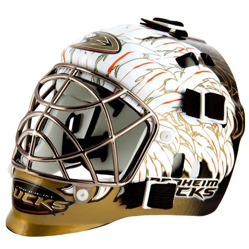 promo code 466c7 90cff Franklin NHL Team Series Anaheim Ducks Mini Goalie Mask (, Size ) - Pro  Licensed Product, Pro Licensed Novelty at Academy Sports