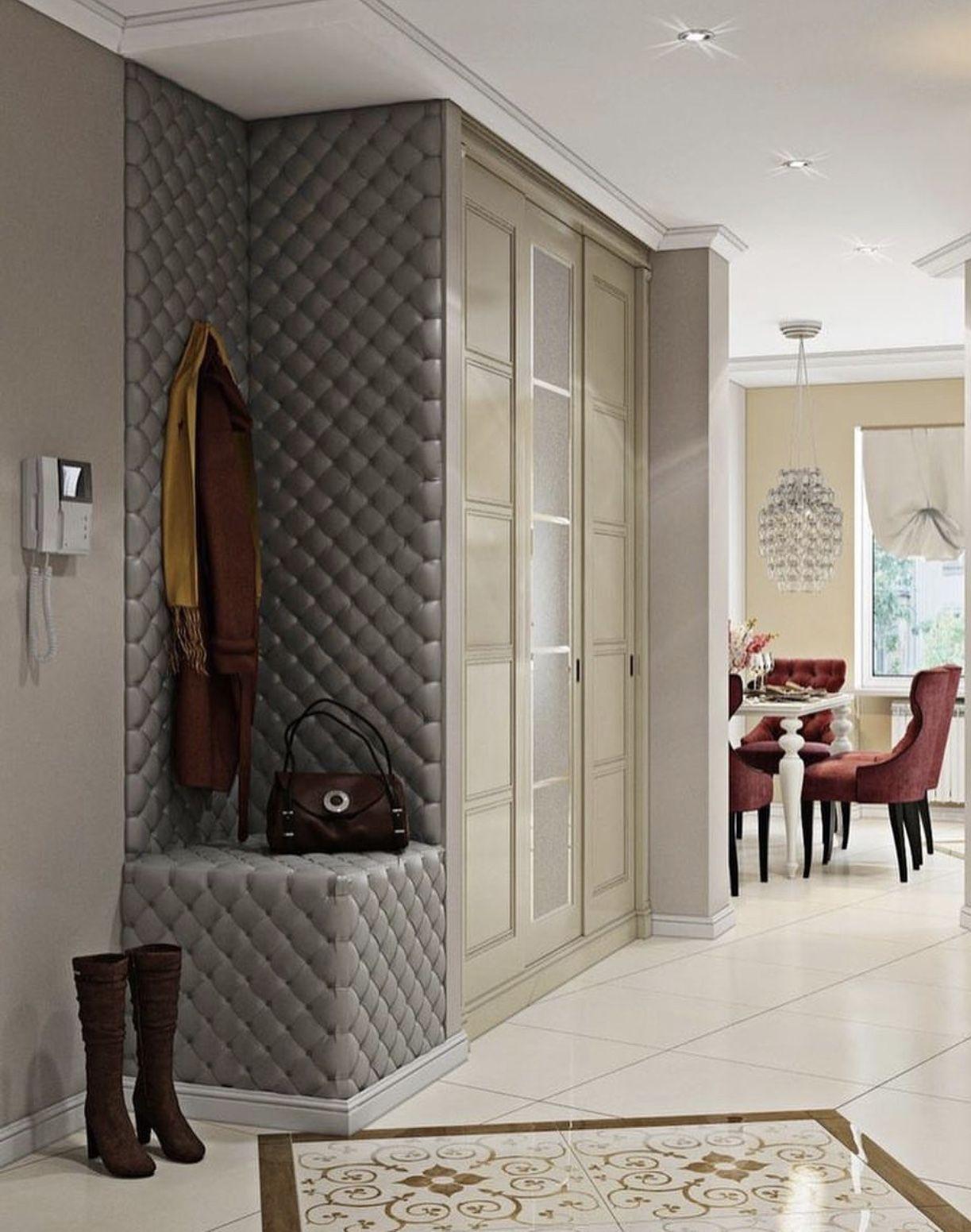 Pin de dayana en departamentos flure garderobe y for Armario de pared con entrada equipada