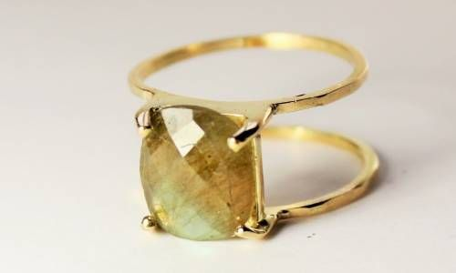 Sortija labradorita, joyas artesanas, joyas hechas a mano, sortija con semipreciosa, handmade jewelry, gold rings, £180,18, €210,