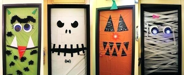 Halloween Door Ideas Decorating Contest Decorations Art Bulletin