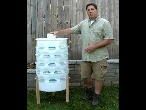 vertical gardening 50 plants in a 55 gallon barrel while. Black Bedroom Furniture Sets. Home Design Ideas