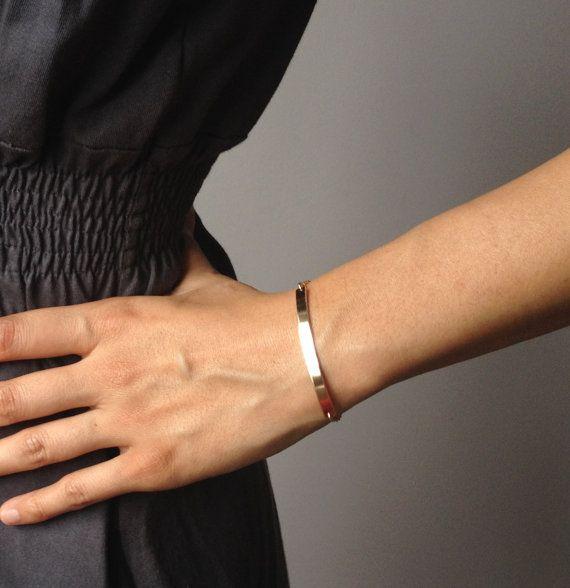 Nameplate Bracelet - Gold Bar Bracelet - Personalized Bar Bracelet - Custom ID Bracelet - Diamond Bar Bracelet - Birthstone Bracelet