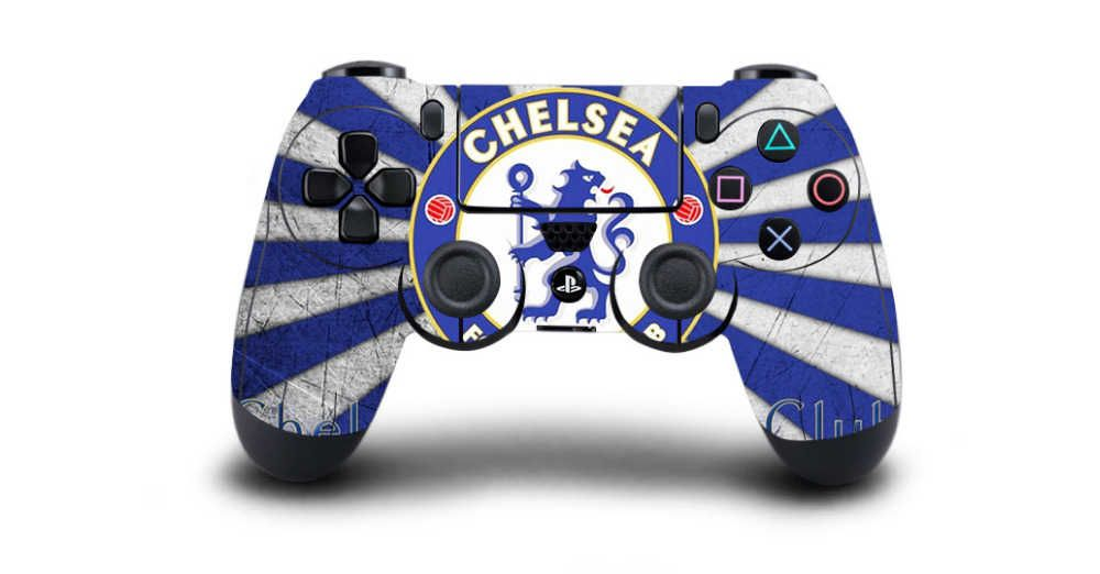 Chelsea Ps4 Controller Skin Buy It Now At Ps4 Custom Nl De Goedkoopste Playstation Sticker Shop Van Nederlan Ps4 Skins Stickers Gamer Setup Game Controller