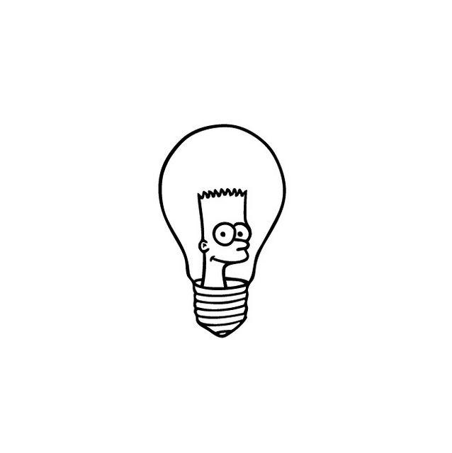 Bartbulb Indie Drawings Indie Art Creative Artwork