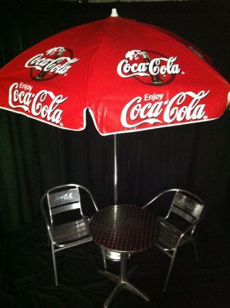 coke patio umbrella coca cola pinterest patio umbrellas coke and coca cola. Black Bedroom Furniture Sets. Home Design Ideas