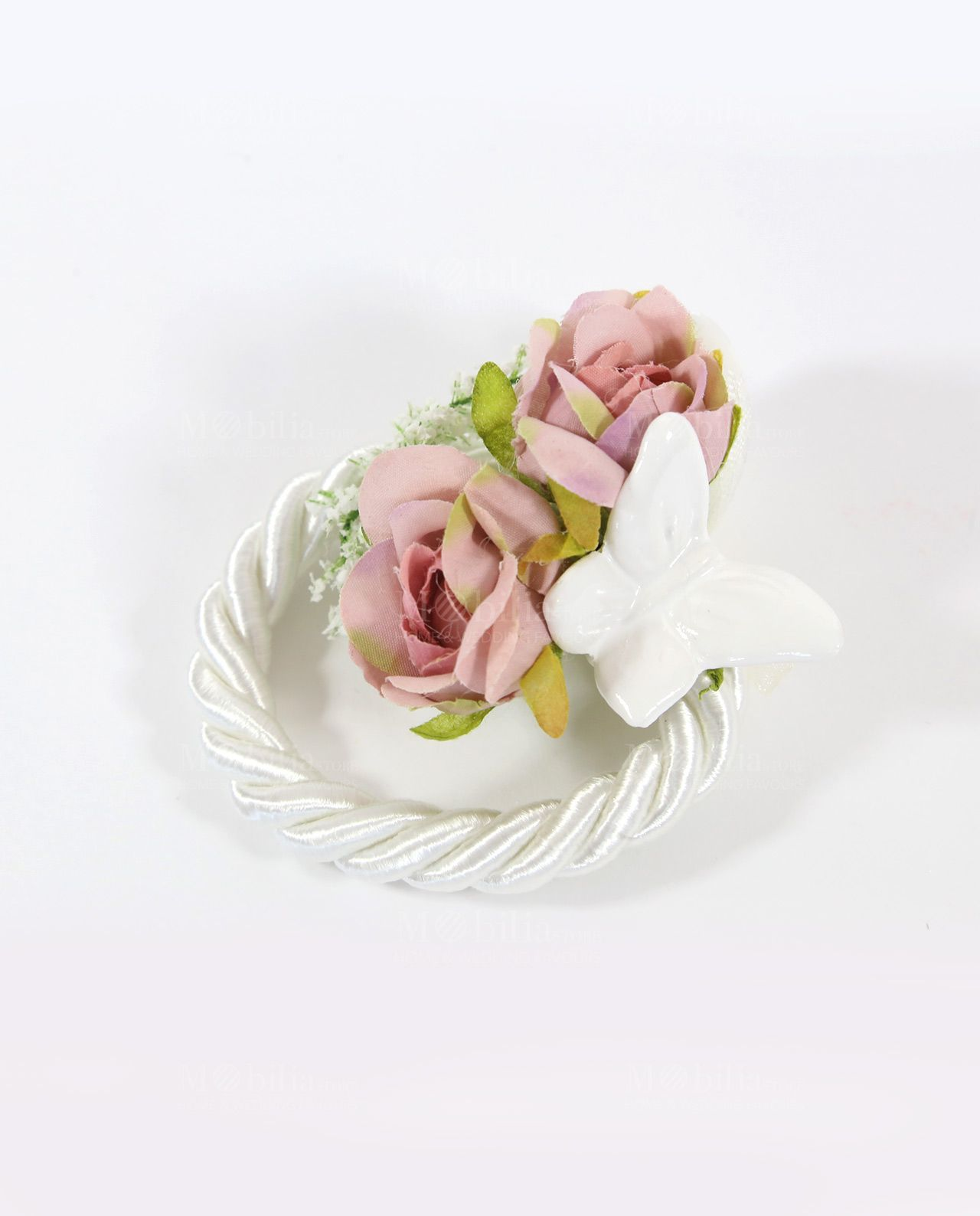 Segnaposto Matrimonio Con Farfalle.Segnaposto Shabby Chic Vintage Rose Rdm Design Segnaposto