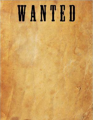 WantedPosterJpg   Inspiring Ideas    Wild
